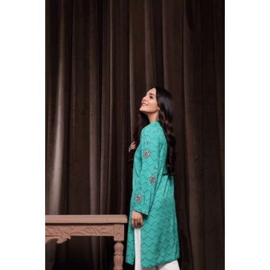 Embroidered Printed Stitched Linen